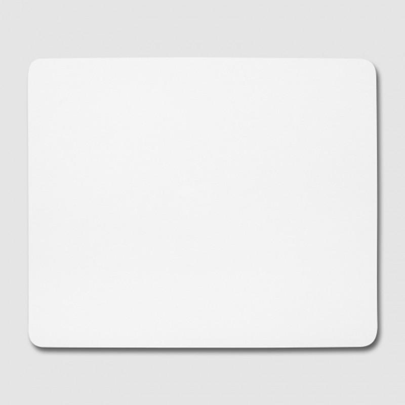 Textil-Mousepad rechteckig 230 x 197 x 5 mm schwarze Unterseite