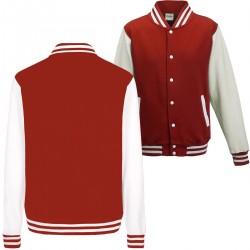 Varsity College Jacket Just Hoods