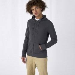 Herren Organic Zipped Hood...