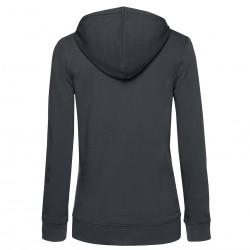 Damen Organic Zipped Hood Jacket B&C