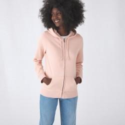 Damen Organic Zipped Hood...