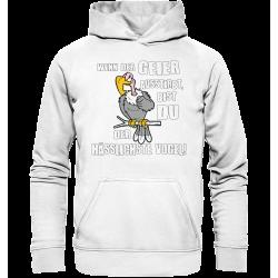 Geier Aussterben Hässlichster Vogel Hässlich Spruch Spass Fun Hoodie Funshirt