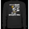 Geier Aussterben Hässlichster Vogel Hässlich Spruch Spass Fun Sweatshirt Funshirt