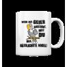 Geier Aussterben Hässlichster Vogel Hässlich Spruch Spass Fun Tasse Becher Kaffeetasse