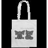 Pfui, Nasebohren! Elefant Spielen Rubbeln Spruch Spass Fun Stoffbeutel mit langen Henkeln